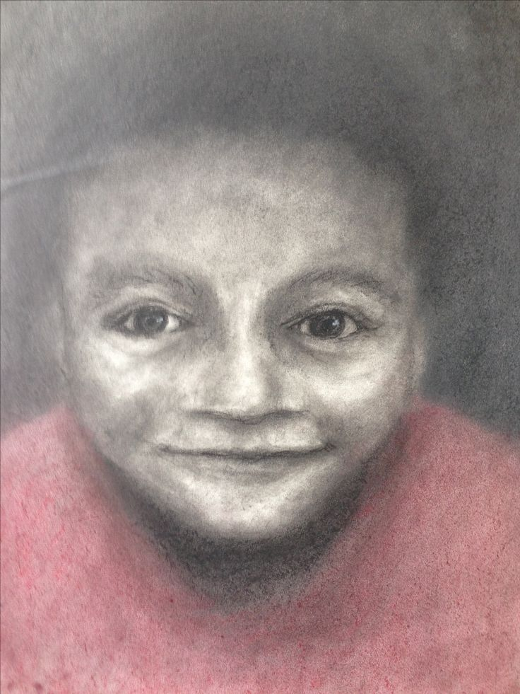 crayon on paper