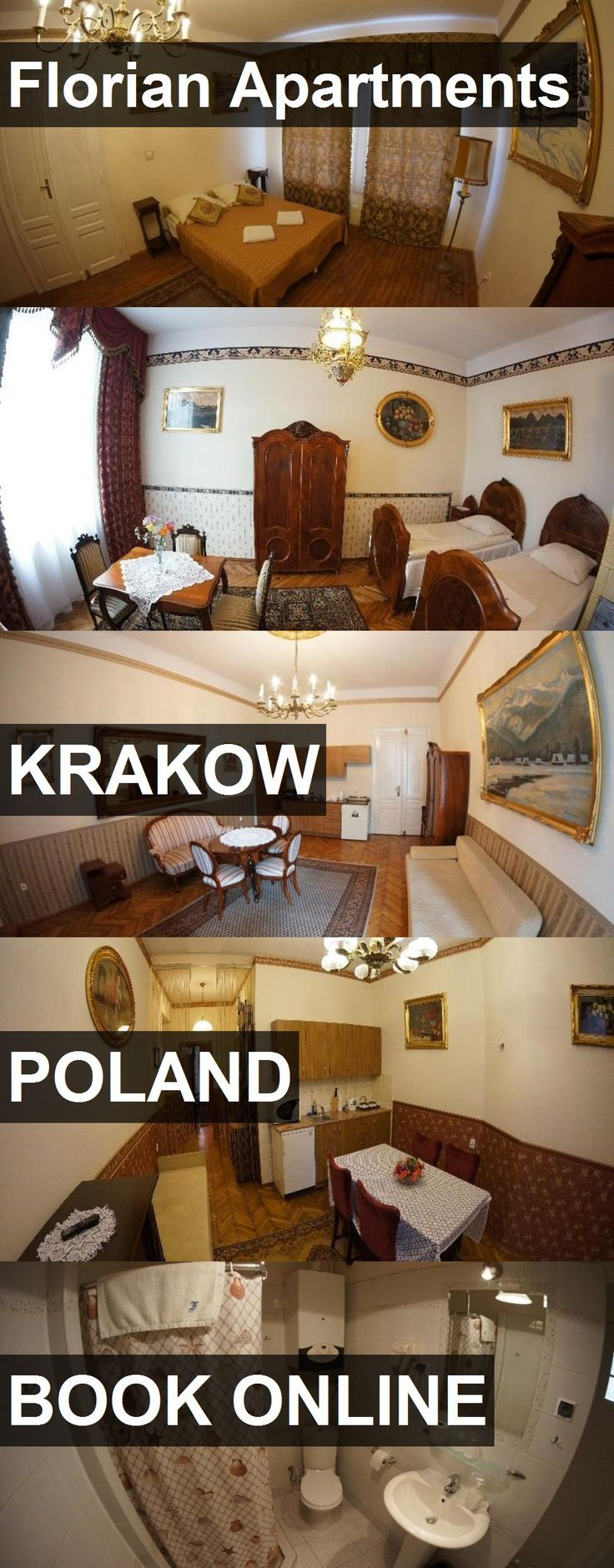 Hotel Florian Apartments in Krakow, Poland. For more information, photos, reviews and best prices please follow the link. #Poland #Krakow #FlorianApartments #hotel #travel #vacation