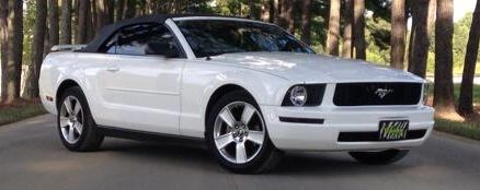 My personal 2006 Ford Mustang convertible