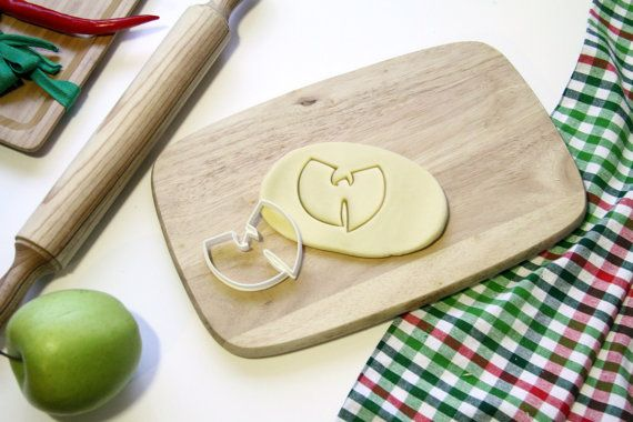 Wu Tang Cookie Cutter Wutang Clan Cookie Cutter Wu-tang Cookie Cutter Cupcake topper Fondant Gingerbread Cutters - Made from Eco Material