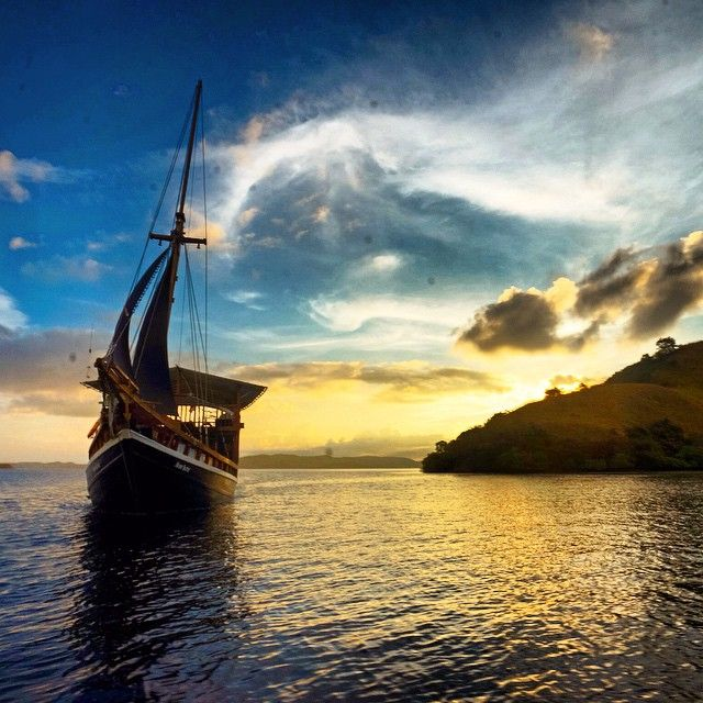 Sail away with us on our liveaboard, Ikan Biru.