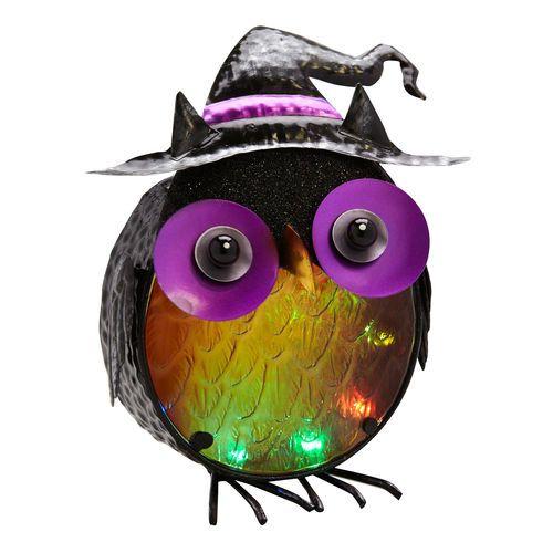 LED Owl $14.99, #Gordmans #Halloween #HalloweenDecor