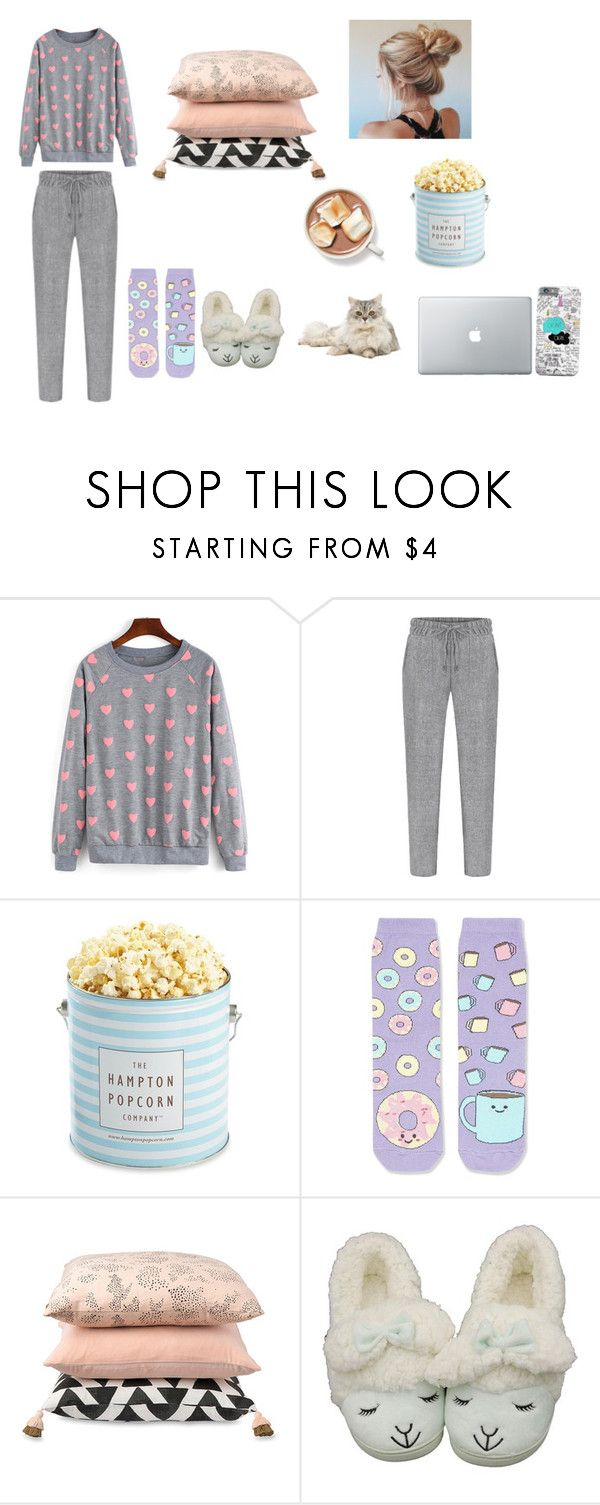"""""""😴💤"""" by tatis26 ❤ liked on Polyvore featuring The Hampton Popcorn Company, Topshop and Citta Design"""