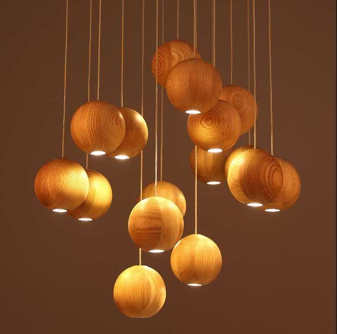 Die besten 25+ Lampe holz wohnzimmer Ideen auf Pinterest Lichter - moderne lampen fur wohnzimmer