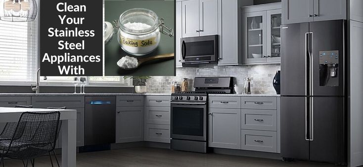 How To Clean Stainless Steel Appliances Easily Effectively Cleaning Stainless Steel Appliances Stainless Steel Cleaning Clean Kitchen
