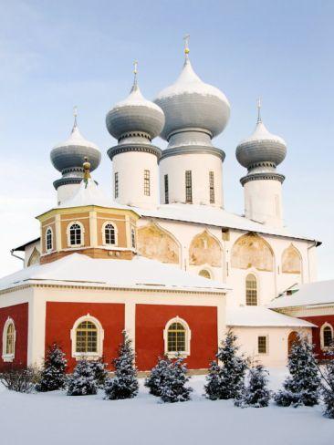 Uspensky Cathedral, Tikhvin, Leningrad Region, Russia
