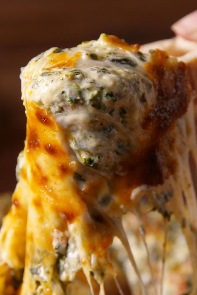 Bacon Spinach Dip  - Delish.com