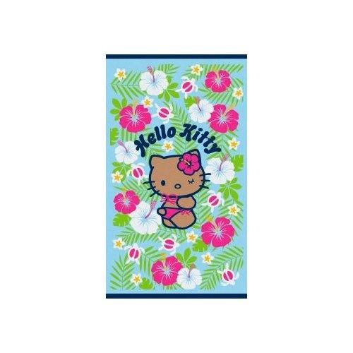 Hello Kitty Extra Large Beach Towel: Hibiscus