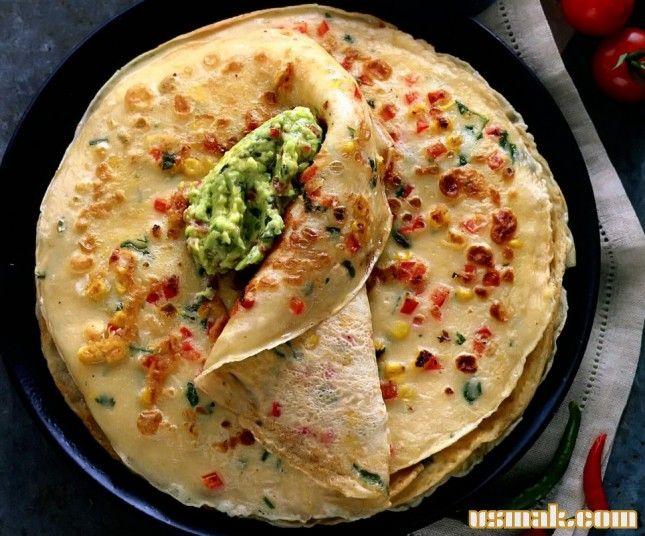 Рецепт Мексиканские блины фото