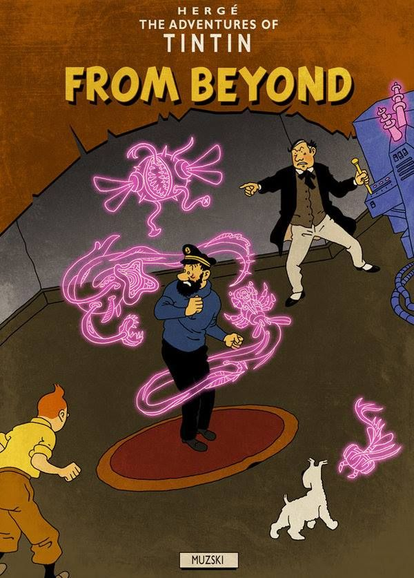 Tintin in From Beyond