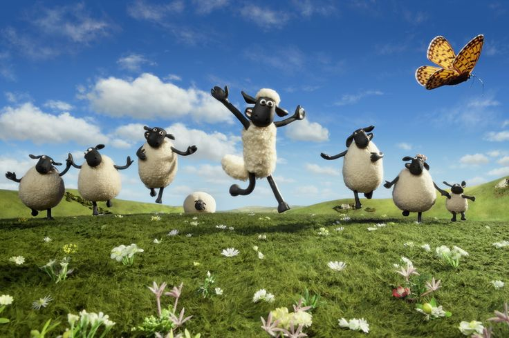"""Shaun the Sheep Movie"" Fresh Rotten Tomatoes Certified with Critic Score-99% and User-82%. (Comedy & Animated)."