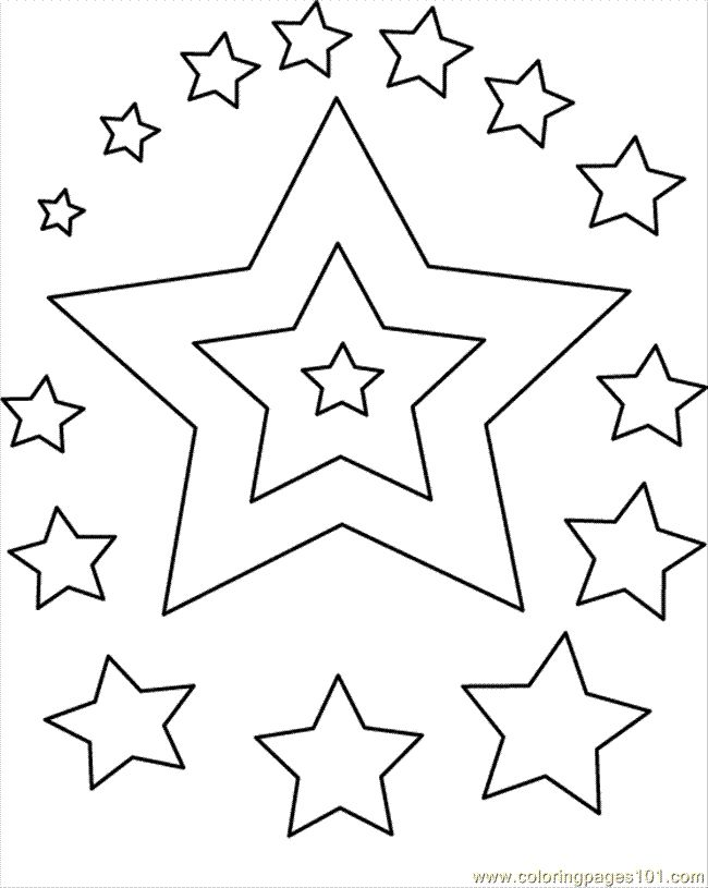 The 10 best Star Coloring Pages images on Pinterest | Star coloring ...