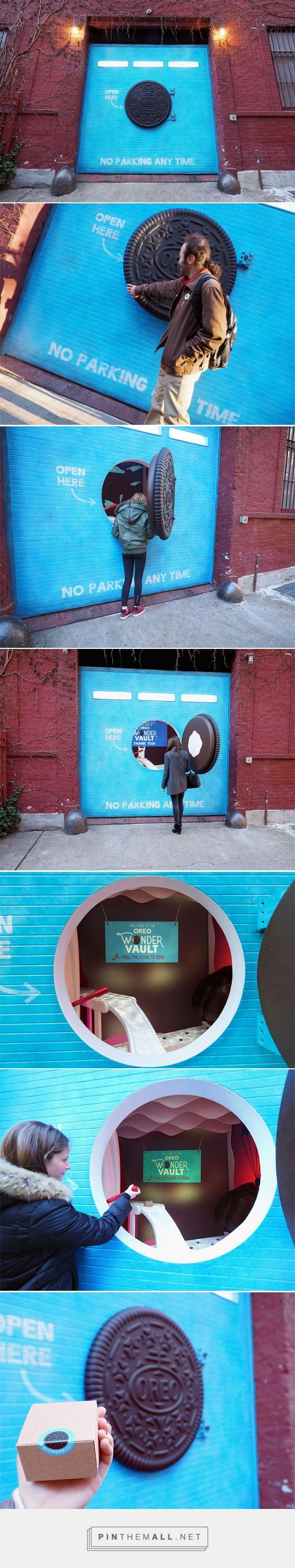 Inside The Oreo Wonder Vault That Popped Up In NYC  Don't really have a board for this but it is such clever advertising