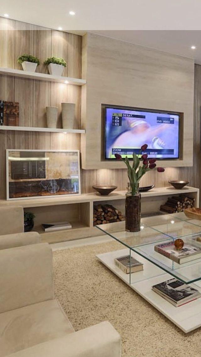 222 Best Tv Wall Images On Pinterest Tv Walls Living