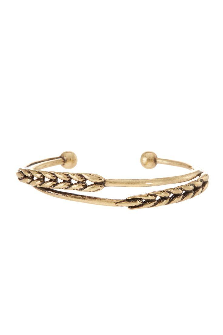 Wheat Cuff Bracelet by Lucky Brand