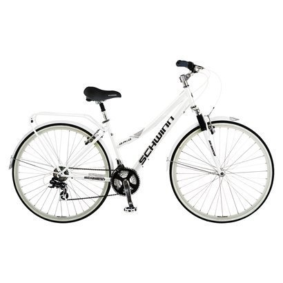 "Schwinn Women's 28"" Road Bike - White/Black"
