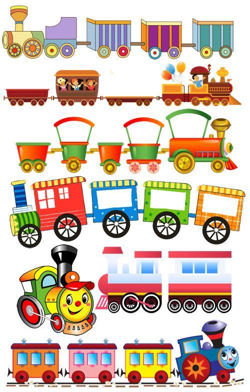 Grafika átlátszó háttérrel - Vonatok