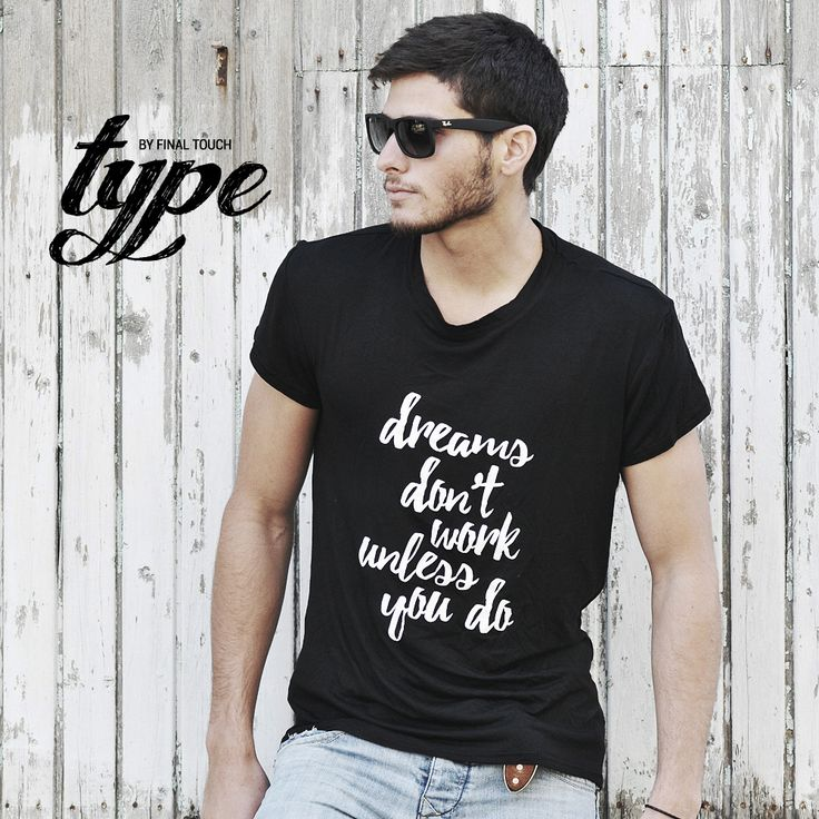 Typographic T-Shirts by Final Touch  www.finaltouch.co.il