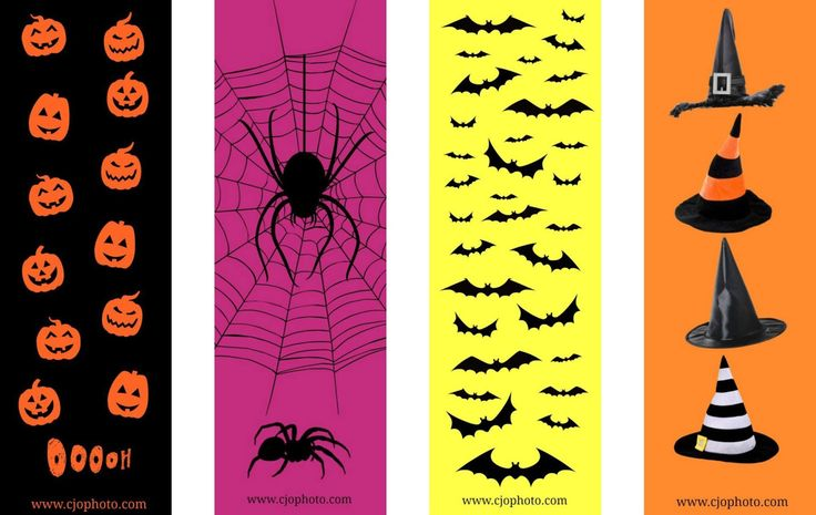 Click here for your FREE PDF printable Halloween bookmarks   courtesy of CJO Photo!     Back to Free Printable Bookmarks   Back to Ha...