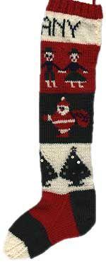 Grandma's xmas stocking pattern from 1945.  Gotta make some for the new grandkids...