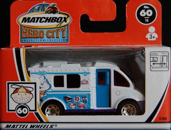 Model Matchbox Ice Cream Truck (zmrzlinár)