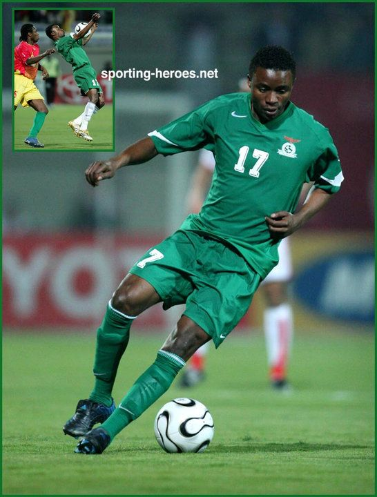 Andrew Sinkala - Zambia - African Cup of Nations 2006