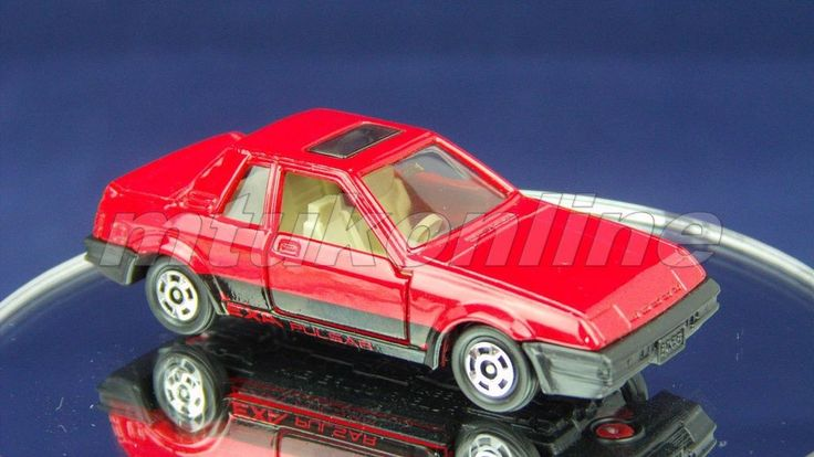 TOMICA 022C NISSAN PULSAR COUPE EXA | 1/60 | JAPAN | 22C-01 | RED 00183