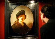 Este holandés cumplió su sueño y pasó la noche en un museo solo con una obra maestra de Rembrandt