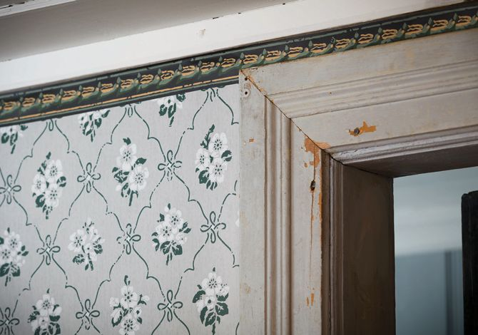 Nice wallpaper, 1860´s