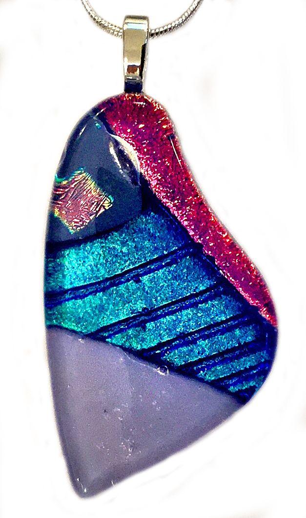Edge of Sunset You can Fly Butterfly Pendant Shards Glass Studio www.shardsglass.com https://www.facebook.com/ShardsGlassStudio?fref=ts