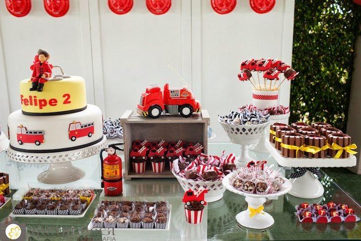 Festa Infantil, tema bombeiros