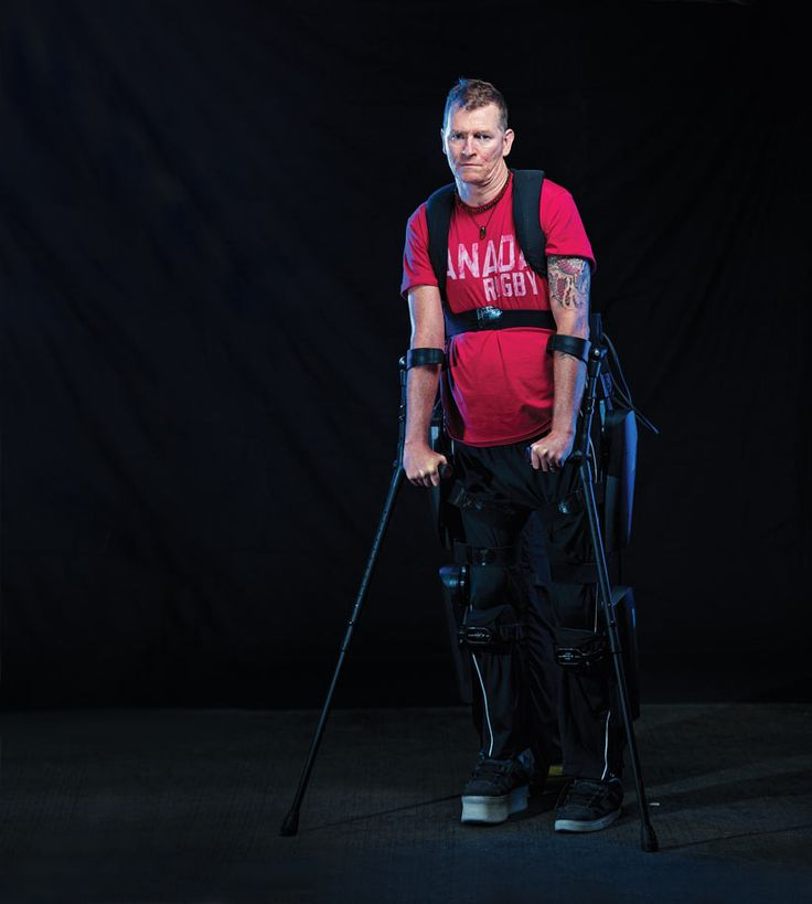 Nine years after Capt. Trevor Greene took an axe to the head in Afghanistan, he is walking again, with the help of an exoskeleton and the Royal Canadian Legion. It is a journey that could change the lives of millions.