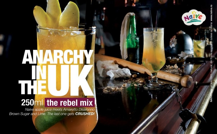 Anarchy In The UK.  The rebel mix.