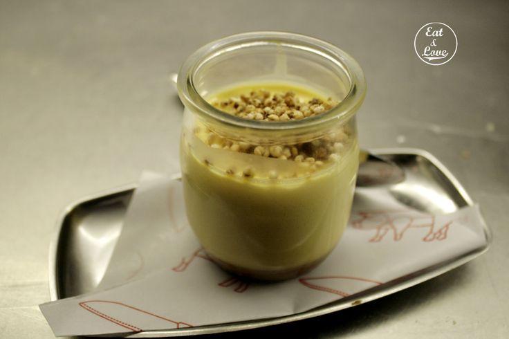 Flan de queso en Sala de Despiece - restaurante tapeo Madrid