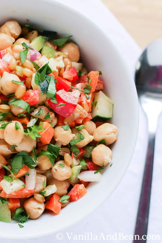 A blog favorite - make ahead for lunch or picnic! | Vegan | Vanilla And Bean