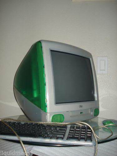 Vintage-Apple-iMac-G3-Lime-Green-M7444LL-A-333Mhz-32MB-6GB-HD-Original-Box