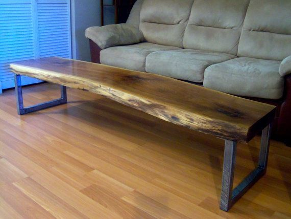 live edge coffee table - - Yahoo Image Search Results