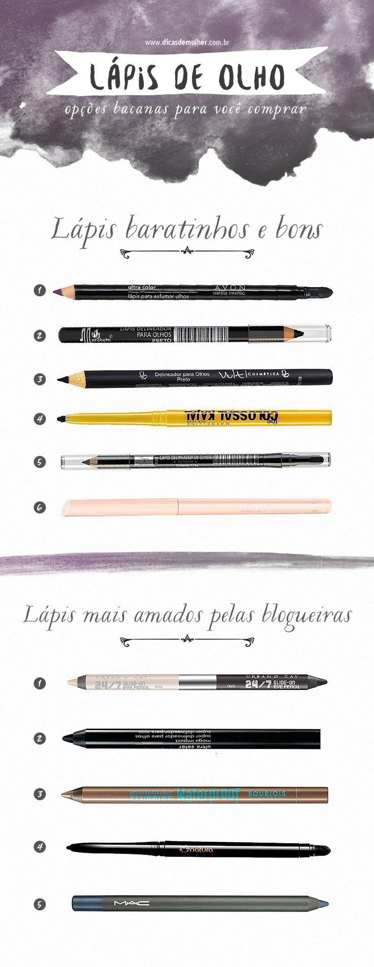Aprenda como escolher o melhor lápis para você, a valorizar o olhar de diferentes formas e finalizar a maquiagem usando o lápis de olho.