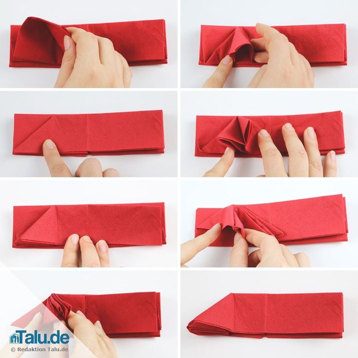 Die besten 25 servietten falten engel ideen auf pinterest - Papierservietten falten anleitung ...