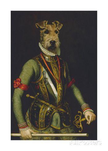Sir Francis Reproduction giclée Premium