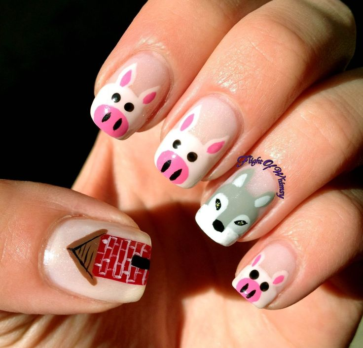 Cute Pig Nail Art Designs : Best pig nail art ideas on pinterest nails