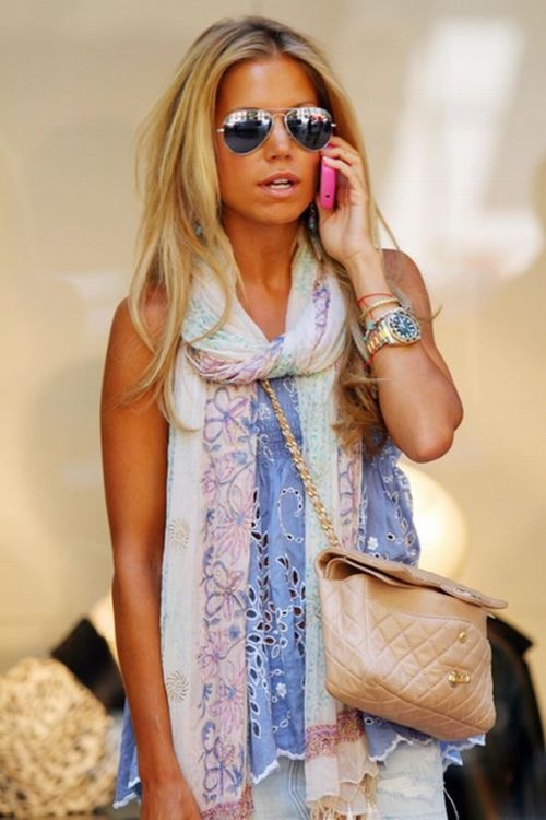: Summer Scarves, Outfits, Fashion, Summer Style, Colors, Currently, Scarfs, Sunglasses, Hair