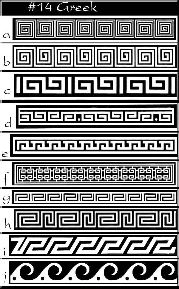 Greek pattern greek idea's -patterns