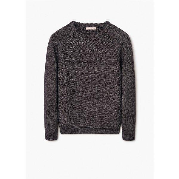 Cardigan e pullover da Uomo | MANGO via Polyvore