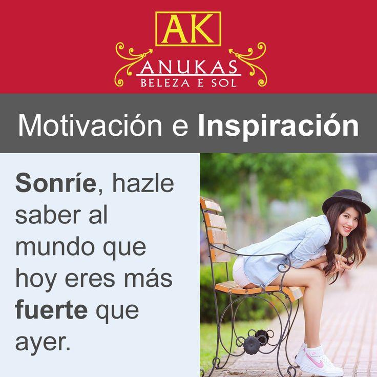 #Motivación ¡Nunca olvides sonreír!