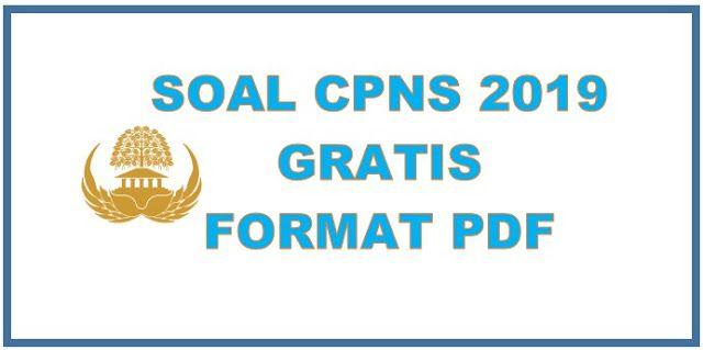 Download Soal Cpns 2019 Twk Tiu Tkp Skb Pdf Gratis Pemerintah Latihan Pengikut