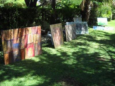 Expo de mis obras al aire libre