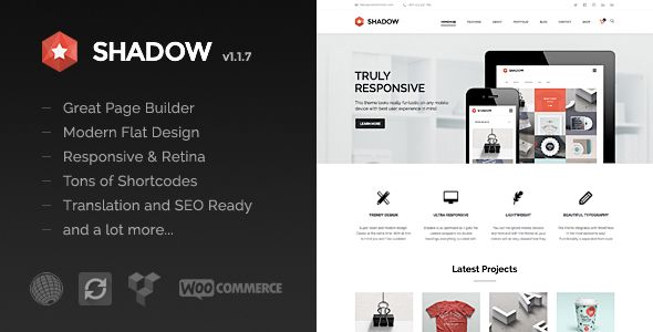 Shadow - Responsive & Retina Multi-Purpose Theme - Corporate WordPress