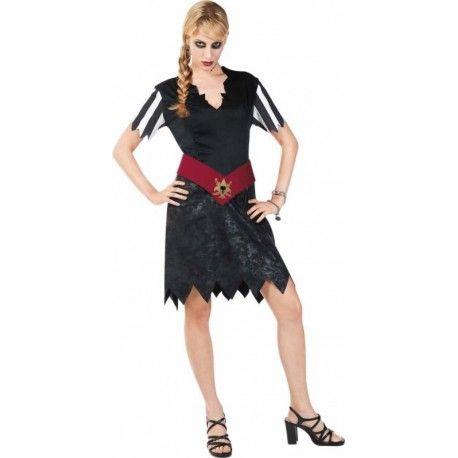 Déguisement pirate gothique femme