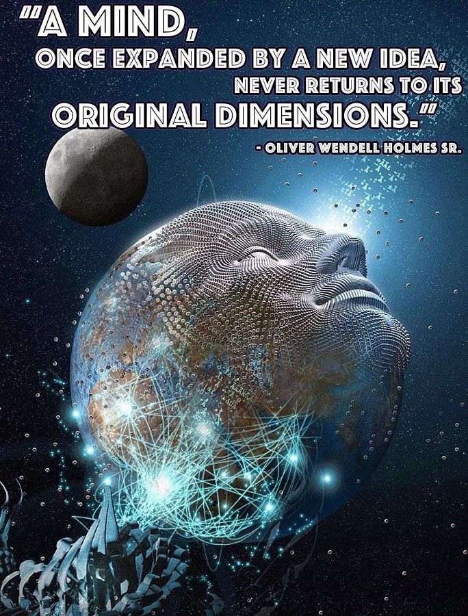 Only Expanding in Full Consciousness.